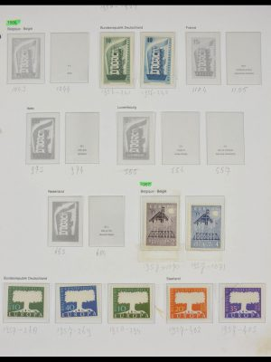 Stamp collection 28080 Europa CEPT 1956-1979.