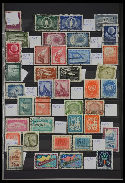 Stamp collection 28099 United Nations New York 1951-2012.