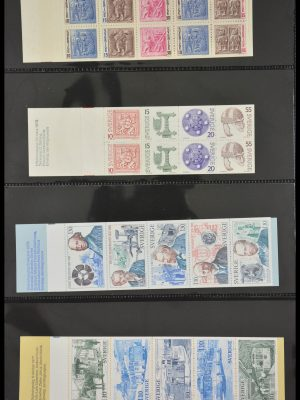 Stamp collection 28117 Scandinavia stamp booklets 1967-2002.