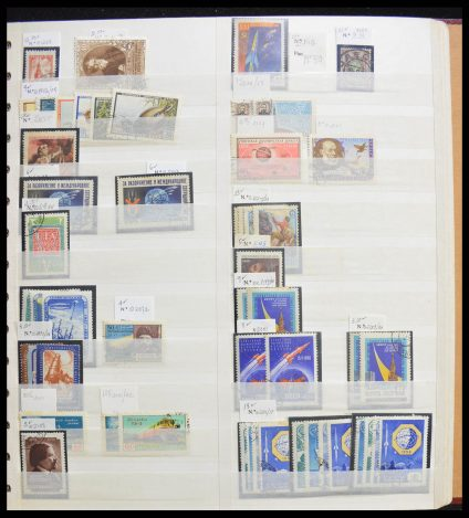 Stamp collection 28121 World dealerstock A-Z.