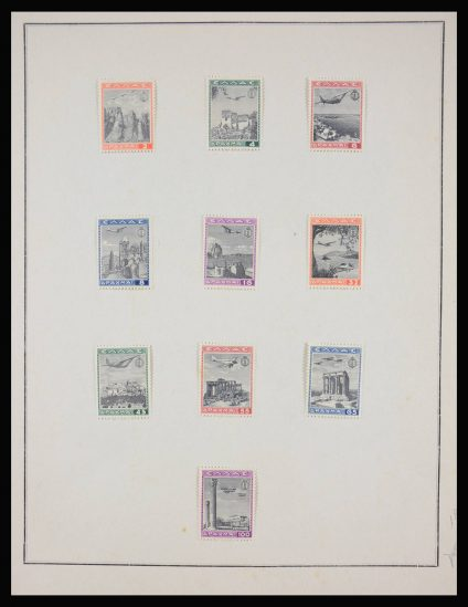Stamp collection 28123 World airmail.