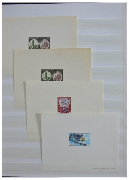 Stamp collection 28146 French Andorra 1964-1986.