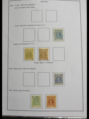 Stamp collection 28155 Balkans 1866-1943.