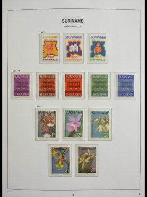 Stamp collection 28163 Republic of Surinam 1975-1995.