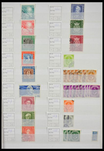 Stamp collection 28173 Bundespost 1949-2013.