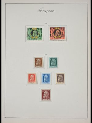 Stamp collection 28189 Germany and territories 1851-1945.