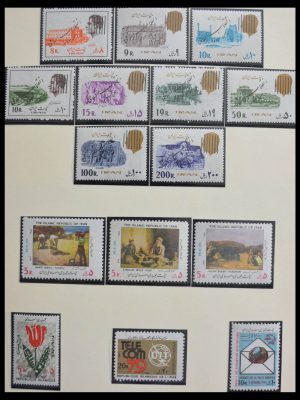 Stamp collection 28199 Iran 1979-2002.
