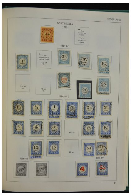 Stamp collection 28214 Netherlands 1852-1990.