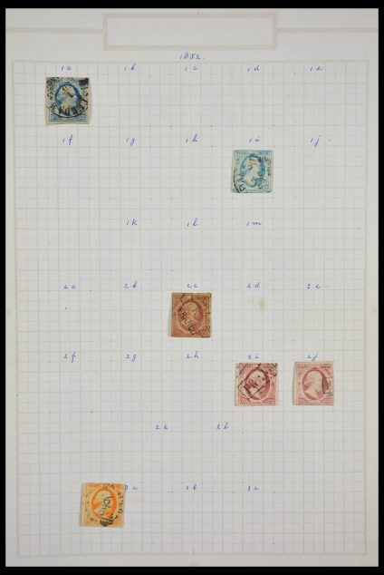Stamp collection 28224 Netherlands 1852-1965.
