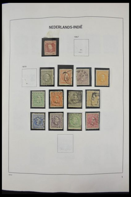Stamp collection 28247 Dutch territories 1864-1982.