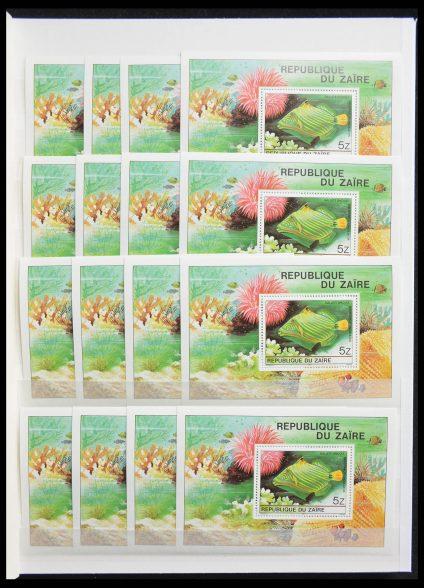 Stamp collection 28259 Zaïre 1977-1996.