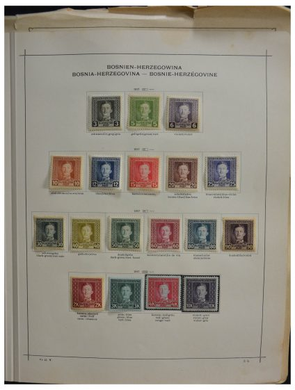 Stamp collection 28267 Balkan 1866-1933.