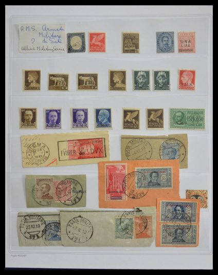 Stamp collection 28268 Italy 1860-1960.
