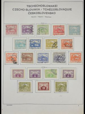 Stamp collection 28274 Czechoslovakia 1918-1978.