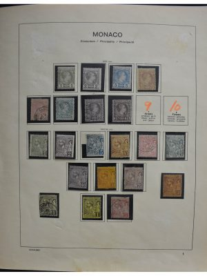 Stamp collection 28292 Monaco 1885-1970.
