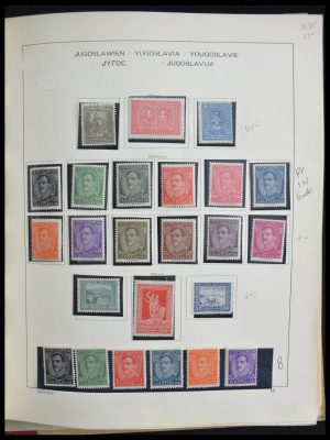 Stamp collection 28298 Yugoslavian territories 1866-1995.
