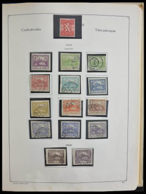 Stamp collection 28305 Czechoslovakia 1918-1992.
