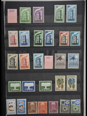 Stamp collection 28307 United Europe CEPT 1949-2005.