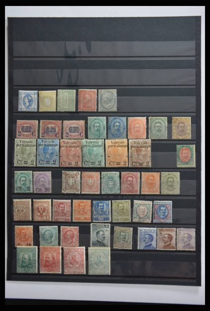 Stamp collection 28309 Italy 1863-1910.