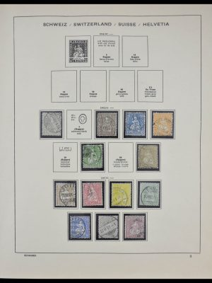 Stamp collection 28316 Switzerland 1862-1983.