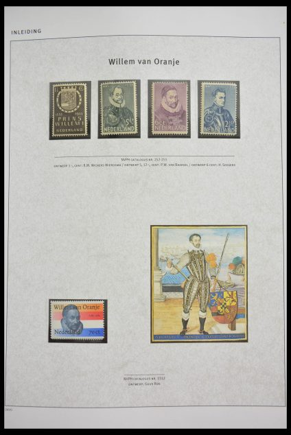 Stamp collection 28319 Netherlands 1891-2003.