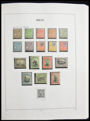 Stamp collection 28321 Malta 1882-1989.