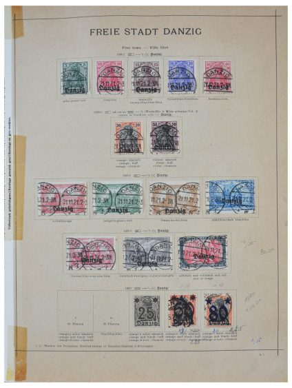 Stamp collection 28322 German territories 1920-1945.