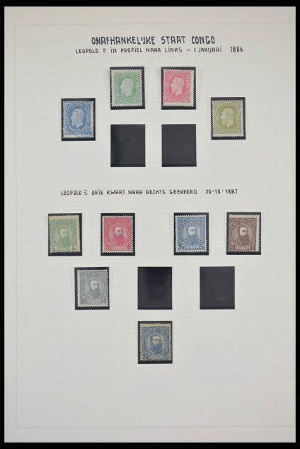 Stamp collection 28328 Belgisch Congo 1886-1971.