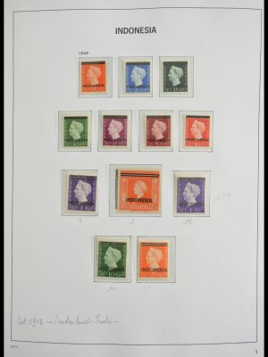 Stamp collection 28338 Indonesia 1949-2010!