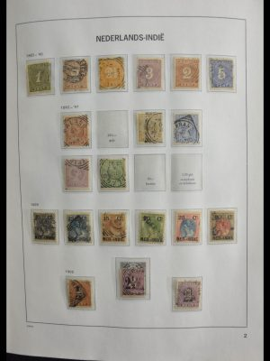 Stamp collection 28352 Dutch Colonies 1870-1992.