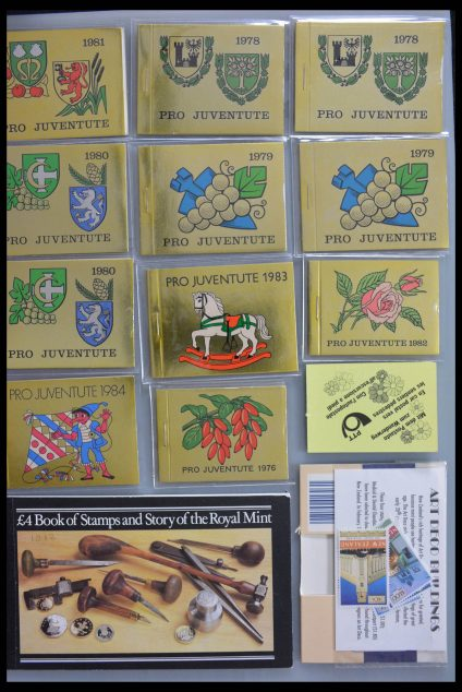 Stamp collection 28358 Western Europe stampbooklets.