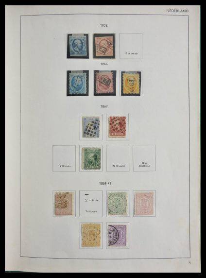 Stamp collection 28366 Netherlands 1852-1982.