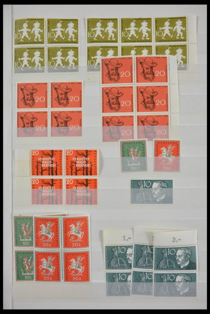 Stamp collection 28379 Bundespost 1958-2000 MNH stock.