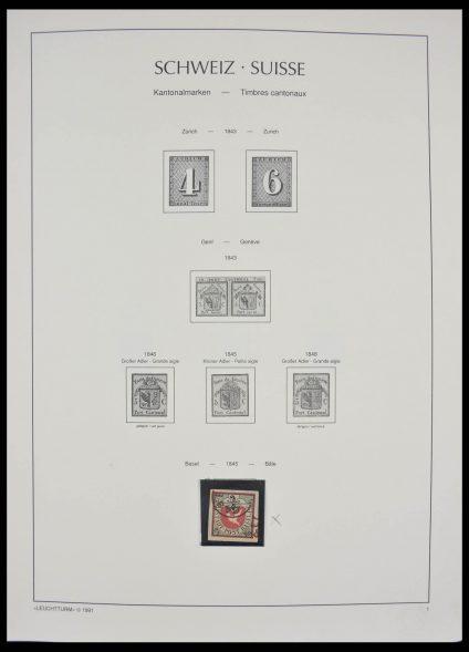 Stamp collection 28382 Switzerland 1850-1995.