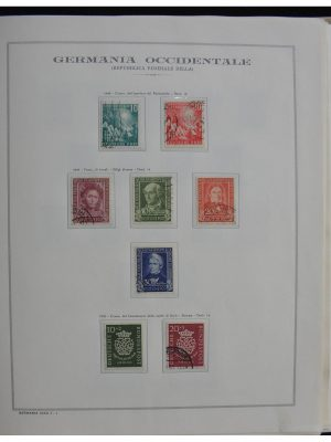 Stamp collection 28389 Bundespost 1949-1983.
