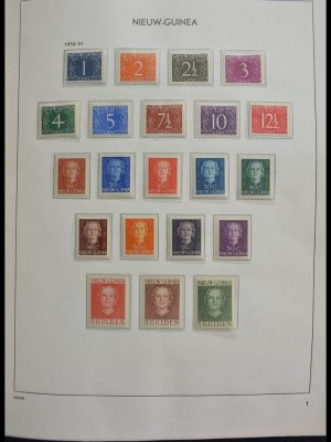 Stamp collection 28405 Dutch territories 1873-1975.