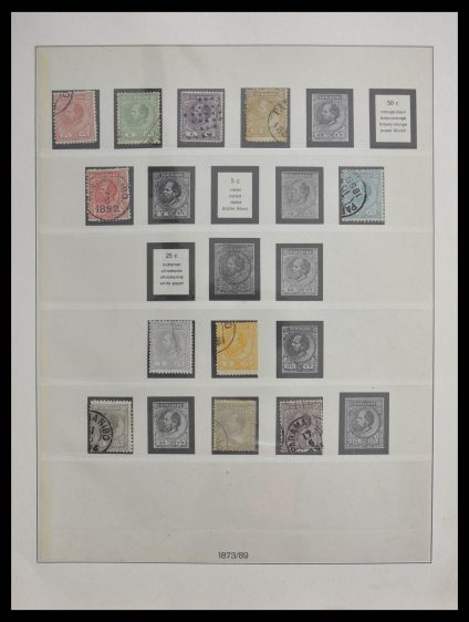 Stamp collection 28413 Surinam 1873-1963.