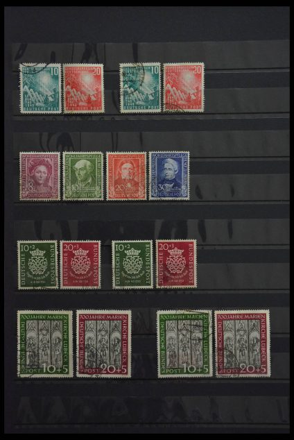 Stamp collection 28488 Bundespost 1949-1953.