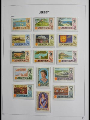 Stamp collection 28490 Jersey 1969-2009.