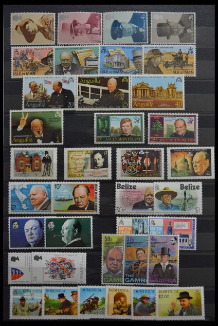 Stamp collection 28509 British Commonwealth MNH.