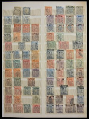 Stamp collection 28534 European countries.