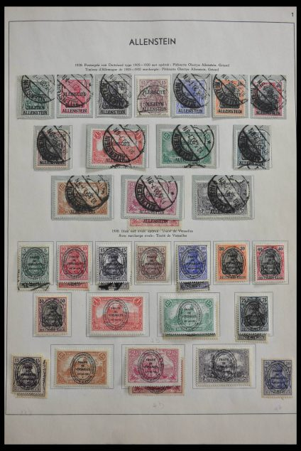 Stamp collection 28566 German territories 1914-1959.