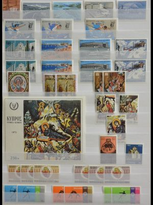 Stamp collection 28583 Cyprus.