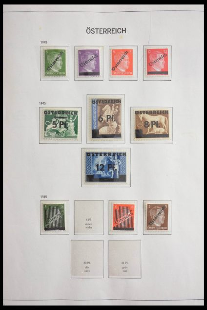 Stamp collection 28602 Austria 1945-1989.