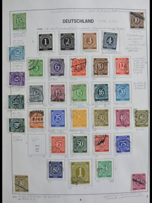 Stamp collection 28606 Bundespost 1949-1993.