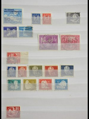 Stamp collection 28611 DDR 1949-1953.
