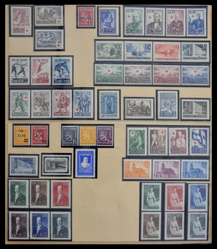Stamp collection 28662 Finland 1936-2004.