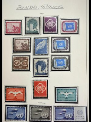 Stamp collection 28699 United Nations 1951-1988.