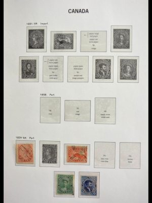 Stamp collection 28704 Canada 1868-2003.