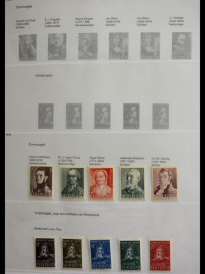 Stamp collection 28718 Netherlands 1941-1974.